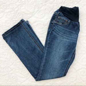 Jessica Simpson Boot Cut Maternity Jeans L